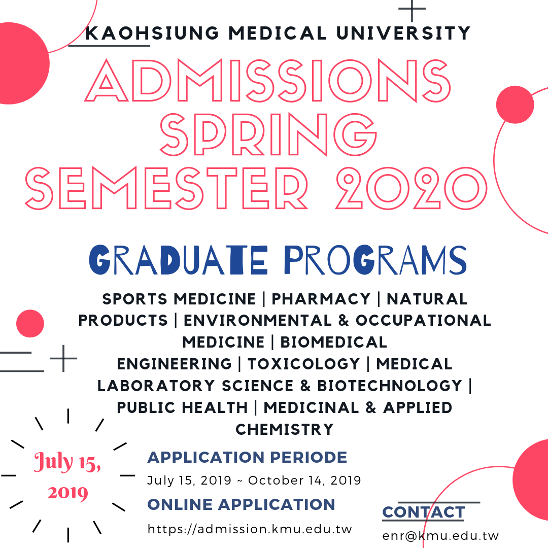 Admission Open [Spring Intake 2020]