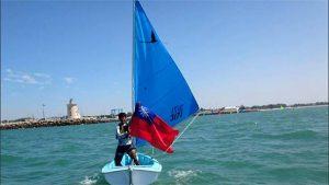 Congrats! Chi-Chian Wu won bronze in the 2019 Para World Sailing Championships.